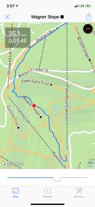 Mappa di corsa