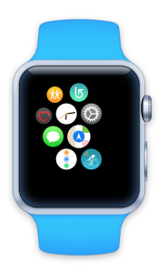 MiCycle sur Watch Homescreen