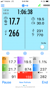 Interface principale (aucune carte)